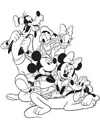 Walt Disney Characters Drawing At Getdrawingscom Free For
