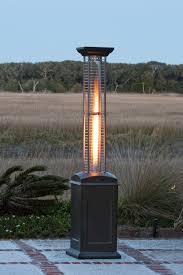 natural gas outdoor pyramid heaters. firesense mocha finish square flame heater natural gas outdoor pyramid heaters e
