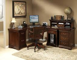 home office workspace wooden furniture. Effective Home Office Area At Your House Corner : Dijon Ii Elegant With Wooden Workspace Furniture O