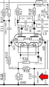 doug circuits i ve never cracked the lid on a vox ac15cc but here s what the schematic tells me as a single channel amp the easiest way to add a ef86 channel is to add