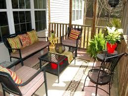 small terrace furniture. Cozy Small Apartment Patio Ideas Images Furniture Terrace Backyard Design