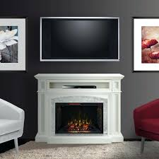 electric fireplace in white white modern electric fireplace tv stand