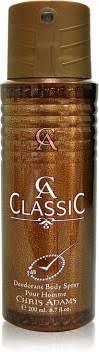 <b>Chris Adams CA Classic</b> Deodorant Spray - For Men & Women ...
