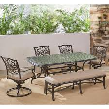 hanover traditions 6 piece aluminum