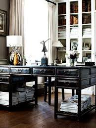 1000 ideas about double desk office on pinterest closet rooms offices and long desk alluring person home office design