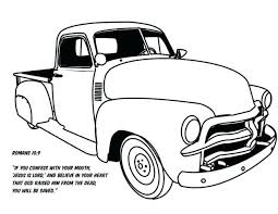 coloring pages old chevy truck coloring pages pickup vintage color book by on ford silverado old