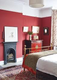 bold red bedroom decor ideas