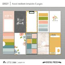 Notebook Templates Lovely Travel Notebook Templates