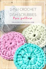 Free Crochet Patterns For Scrubbies Fascinating 48in48 Dish Scrubby Free Crochet Pattern No More Sponges Try
