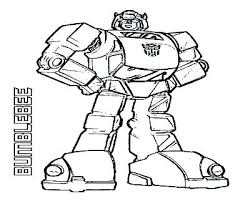 Transformers Coloring Pages Bumblebee Face Transformers Coloring