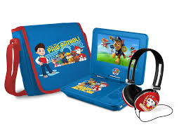 "PAW Patrol 7"" <b>Portable</b> DVD Player with <b>Carrying Bag</b> and ..."