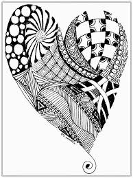 Free Heart Pictures To Color For