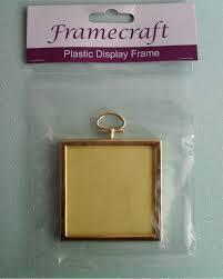 square plastic frame for crafts