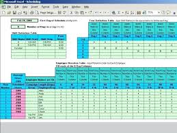 excel rotating schedule how to create an employee schedule in excel rotating shift schedules