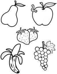 Coloriage Les Fruits Page 2