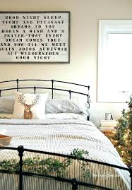 farmhouse style bedroom bedding come tour this cozy filled with plenty of winter decor