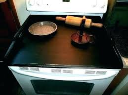 glass stove top protector electric burner protectors glass stove top protector primitive cook cover f glass