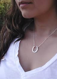 horseshoe pendant from sacred silver