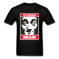 How To Make T Shirt With Your Own Design Us 7 32 40 Off Custom Ab Normal Brain Logo Design Tops Make Your Own Dress Mens T Shirt Plain O Neck Oversized T Shirt Mr Bean T Shirt In T Shirts