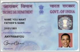 India Fake India Pan Card Pan Pan Fake Fake Card