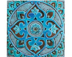 Decorative Tiles To Hang Garden decor outdoor wall art and ceramic tiles by GVEGA on Etsy 78