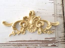 wood furniture appliques. Image Is Loading ARCHITECTURAL-CARVED-FLORAL-CREST-FURNITURE-APPLIQUES-WOOD -amp- Wood Furniture Appliques A