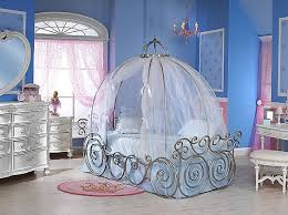 Disney Princess Carriage Bed with Sheer Fabric (frame sold separately) |  HOM Furniture | For the kids | Pinterest | Disney princess carriage, Fabric  frame ...