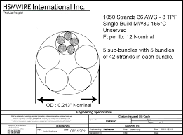 awg nema magnet wire iec metric standard sizes chart bare wire litz wire drawing