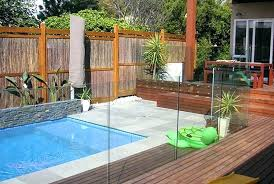 pool fence fences aluminium pool fencing cost per metre