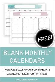 11 printable calendar 6 best of 8 5 x 11 printable calendar page plain blank calendar 8 5 x 11 8 5 x 11 calendars printable from 8.5 x 11 lastly if you wish to gain unique and the latest picture related with (fresh 8.5 x 11 printable calendar), please follow us on google plus or save this page, we. Printable Monthly Calendar 8 5x11 Or 11x14 With Watercolor Design