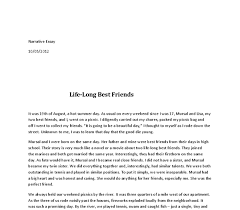 life long best friends gcse english marked by teachers com document image preview