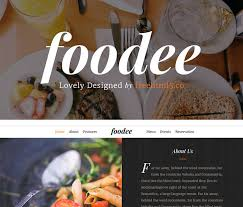 Restaurant Website Templates Enchanting Free Bootstrap Template For Restaurant Website Online Ordering