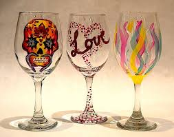 wine glass painting work paint monkey waterfront homestead 19 april