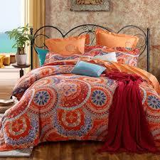 orange and blue duvet cover google