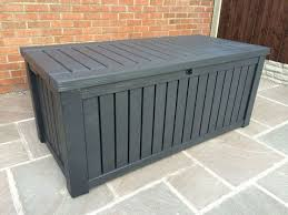 outdoor storage boxes plastic. keter rockwood anthracite plastic garden storage deck box 570 ltr capacity xl outdoor boxes
