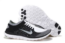 nike running shoes black and white. nike free 4.0 flyknit women black white grey shoes running and \