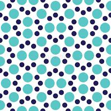 Vector Modern Seamless Colorful Geometry Dot Pattern Color Abstract