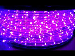 Blacklight String Lights Impressive Black UltraViolet UV Led Rope Light YouTube