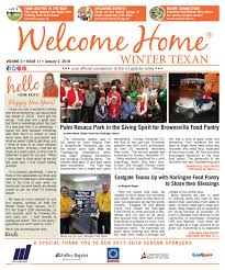 Welcome Home Winter Texan : Vol 3 Issue 11 : January 3, 2018 by Kristi  Collier - issuu