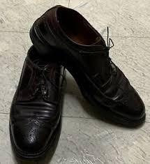 Alden Shoe Size Chart Details About Alden 975 Mens Leather Lace Up Oxford Dress Shoe Size 10 A C