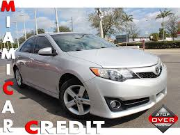 2014 Used Toyota Camry SE at Miami Car Credit LLC Serving Miami ...