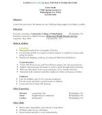 How To Make Simple Resume For A Job Example Of A Simple Resume For A Job Simple Resume Format How To