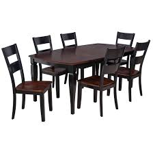 Shop 7 Piece Solid Wood Dining Set Victoria Modern Kitchen Table