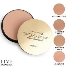 Max Factor Creme Puff Colour Chart Details About Max Factor Creme Puff Pressed Compact Face Powder Choose Your Shade
