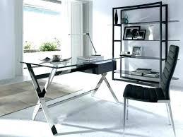 office desk modern. Wonderful Office Enchanting Modern Glass Desk Office  Contemporary Furniture  And Office Desk Modern