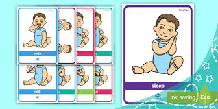 Baby Sign Language Poster Pack Bedtime Signs Baby Sign