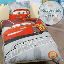 Lightning Mcqueen Bedroom Accessories Disney Cars Lightning Mcqueen Bedding Single Double Amp Junior