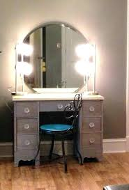 Vanity Table With Mirror Set And Lights Desk Bedroom Dressing Makeup ...
