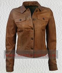 brown denim jacket womens fit
