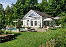 pool house. Simple Pool Greek Revival Pool House For